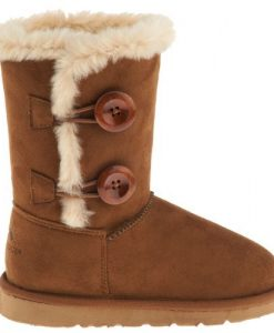 Girls Comfy Leather Boots