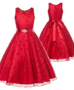 Girls Golden Dresses