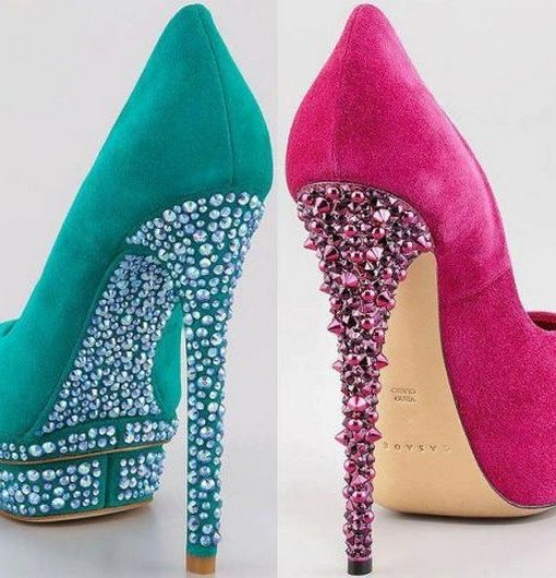 Princess High Heeled Shoes